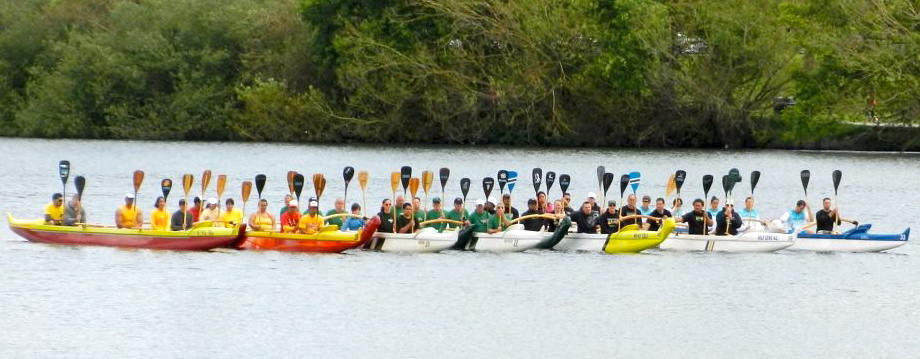 Paddles honor Uncle Larry Awana