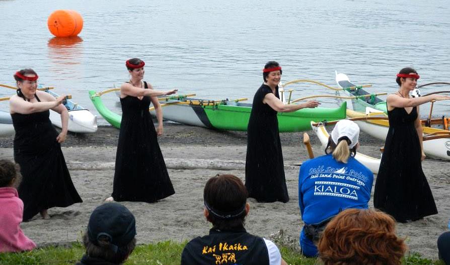 Opening ceremony by Ke Kukui