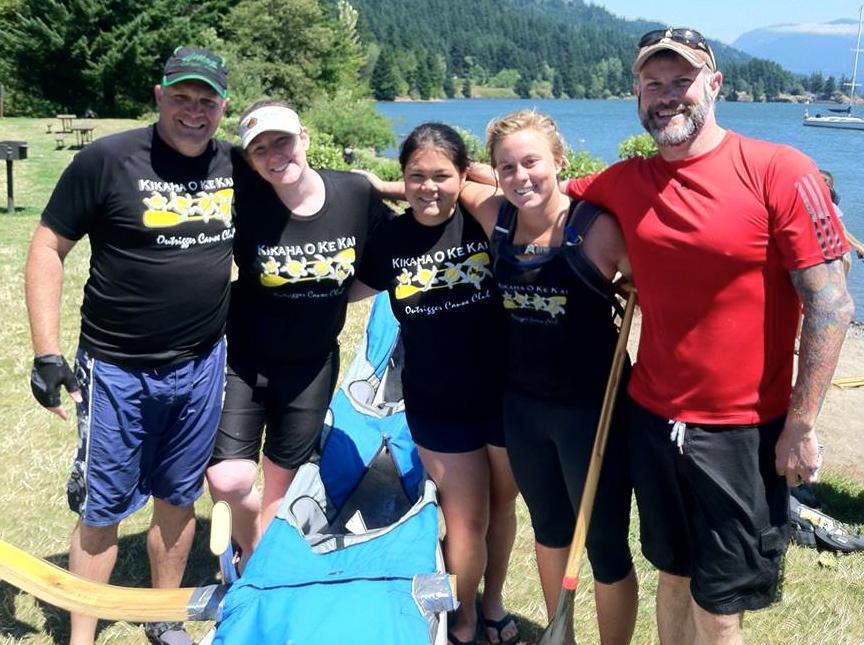 Doug with the Kikaha Crew
